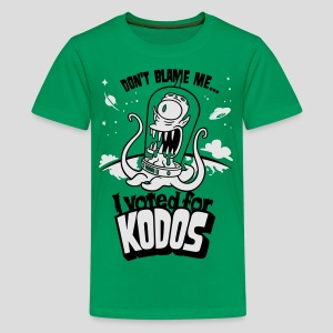 The Simpsons: I Voted for Kodos - Kids' Premium T-Shirt