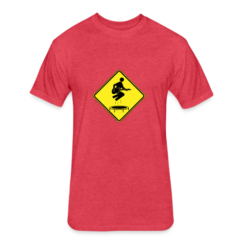 You Enjoy Mini-Tramps - Fitted Cotton/Poly T-Shirt by Next Level