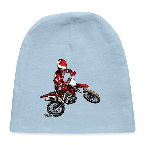 christmas dirt biker - Baby Cap