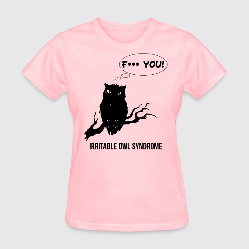Irritable Owl Syndrome - Women's T-Shirt