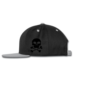 Skull Mug - Snap-back Baseball Cap