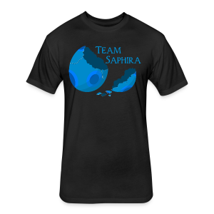 Team Saphira! (Unisex) - Fitted Cotton/Poly T-Shirt by Next Level