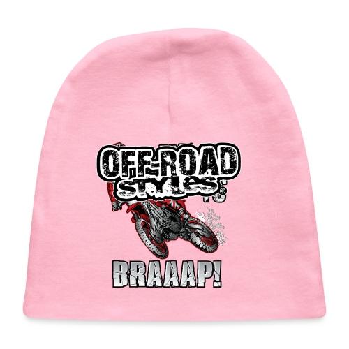 Motocross Christmas - Baby Cap