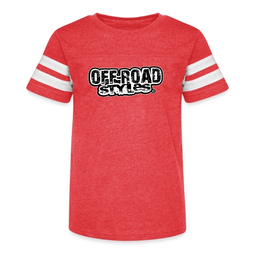 Motocross Christmas - Kid's Vintage Sport T-Shirt