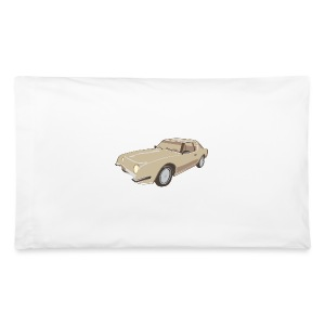 Gold Studebaker Avanti illustration - Pillowcase