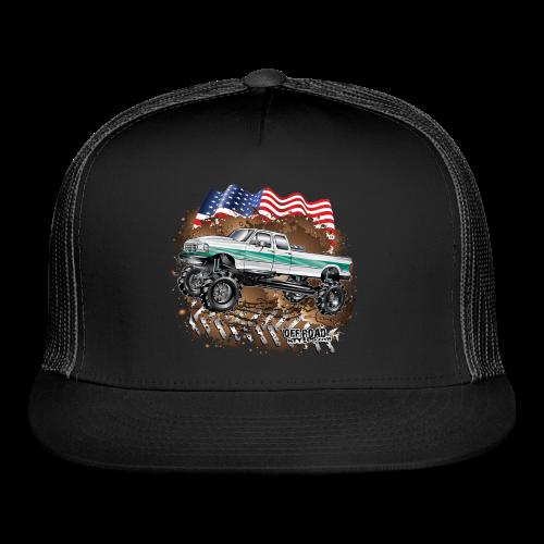 Ford F350 Mud Truck - Trucker Cap