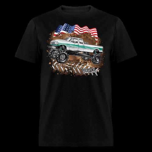 Ford F350 Mud Truck - Men's T-Shirt