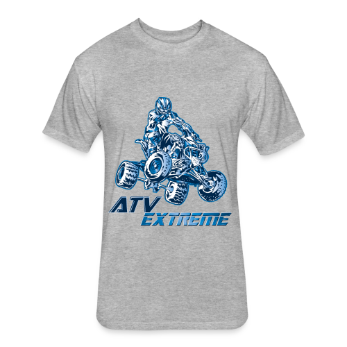 ATV Extreme Supercross - Fitted Cotton/Poly T-Shirt by Next Level