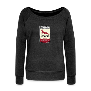 Antelope Oil - Women's Wideneck Sweatshirt
