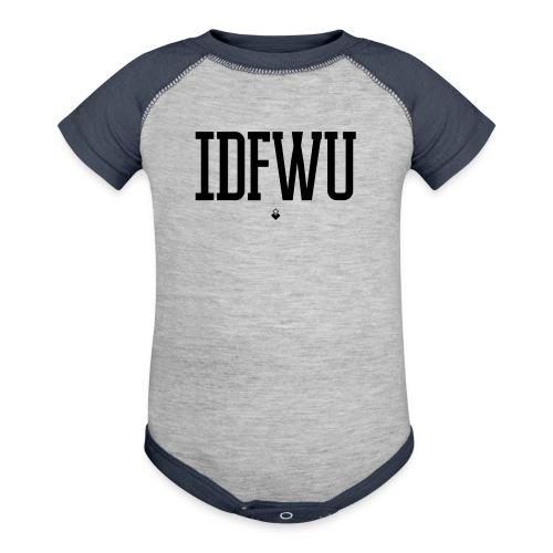 #IDFWU - Women's T-Shirt - Contrast Baby Bodysuit