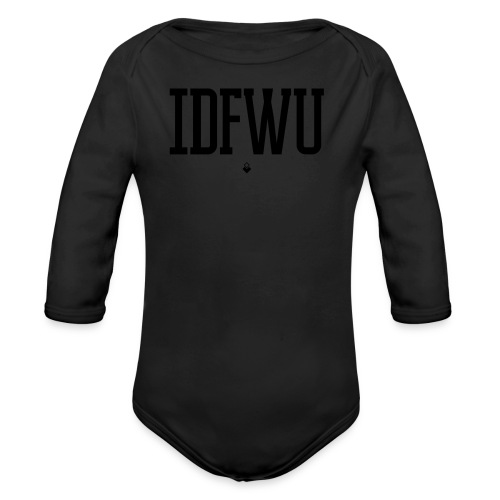 #IDFWU - Women's T-Shirt - Organic Long Sleeve Baby Bodysuit