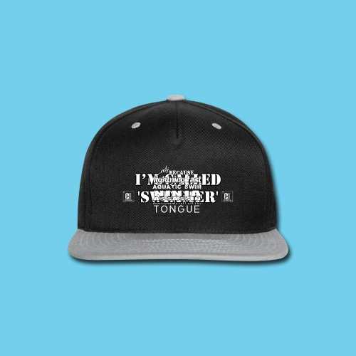 I'm called 'Swimmer'- Youth Hoodie - Snap-back Baseball Cap