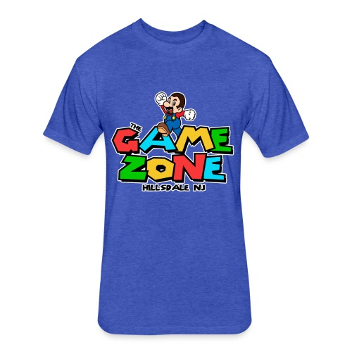 Tony Game Zone - Fitted Cotton/Poly T-Shirt by Next Level