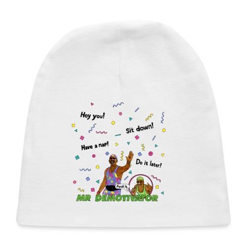 Mr. Demotivator T-shirt - Baby Cap