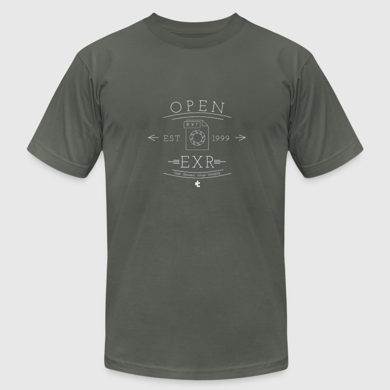 Open EXR - Men's T-Shirt by American Apparel