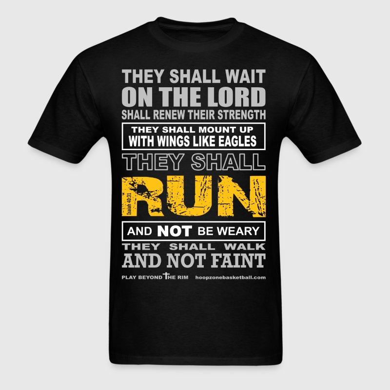TheyShallRun4dark.png T-Shirts - Men's T-Shirt