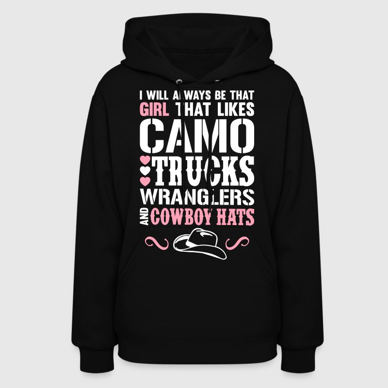 Camo Girl - Country Closet Hoodies - Women's Hoodie
