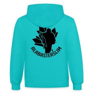 AlabasterSlim - Contrast Hoodie