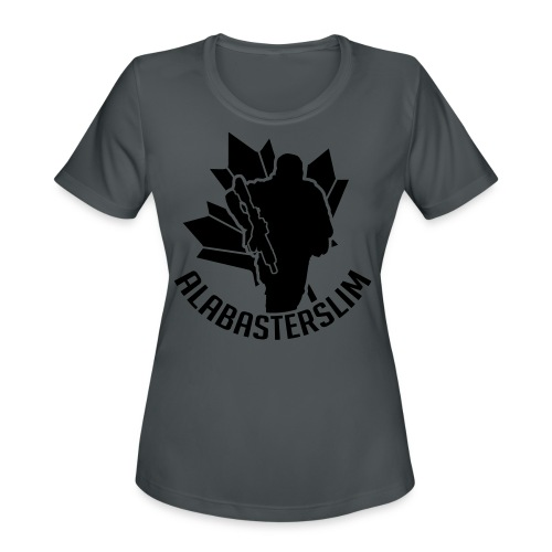 AlabasterSlim - Women's Moisture Wicking Performance T-Shirt