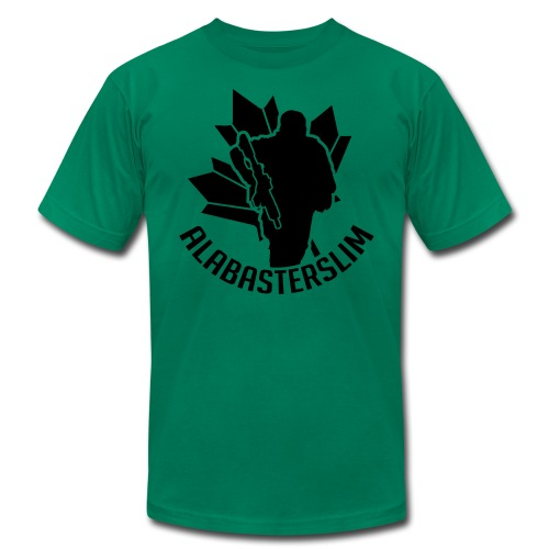 AlabasterSlim - Men's Fine Jersey T-Shirt