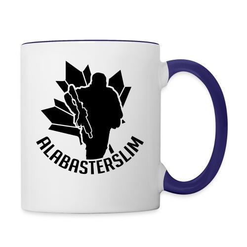 AlabasterSlim - Contrast Coffee Mug