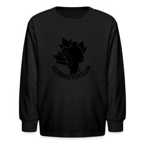 AlabasterSlim - Kids' Long Sleeve T-Shirt