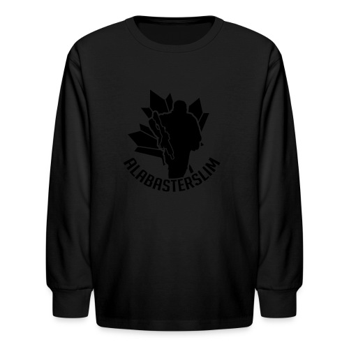AlabasterSlim - Kids' Long Sleeve T-Shirt