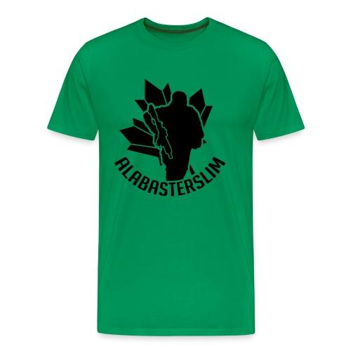 AlabasterSlim - Men's Premium T-Shirt