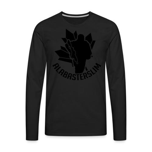 AlabasterSlim - Men's Premium Long Sleeve T-Shirt