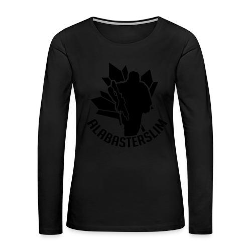 AlabasterSlim - Women's Premium Long Sleeve T-Shirt