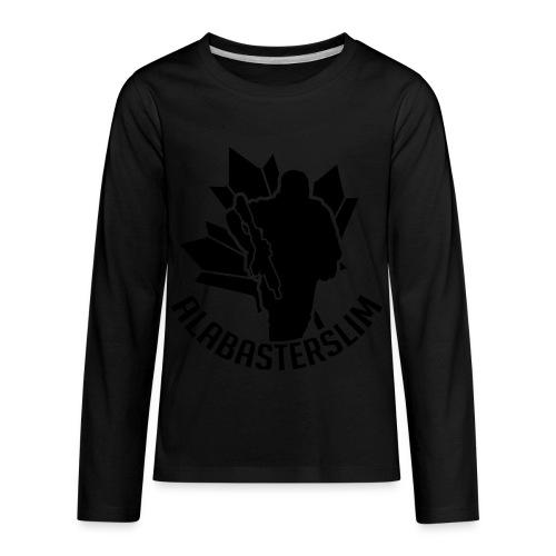 AlabasterSlim - Kids' Premium Long Sleeve T-Shirt