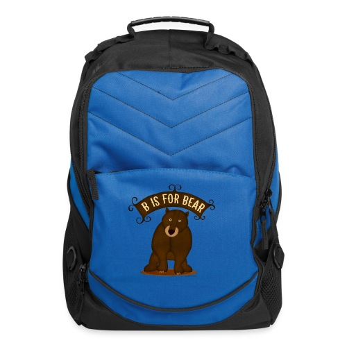 B is for Bear - Computer Backpack