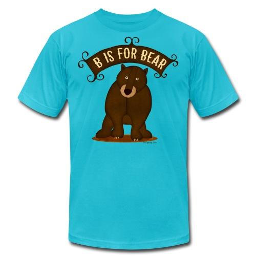 B is for Bear - Men's  Jersey T-Shirt