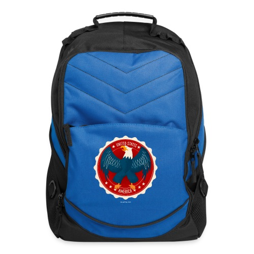 U.S.A. Eagle Kids T-Shirt - Computer Backpack