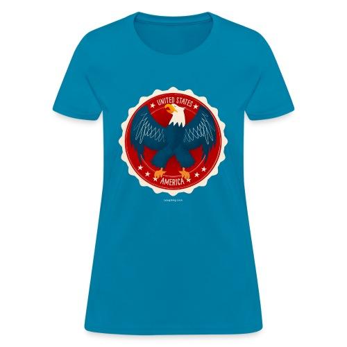 U.S.A. Eagle Kids T-Shirt - Women's T-Shirt