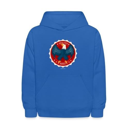 U.S.A. Eagle Kids T-Shirt - Kids' Hoodie