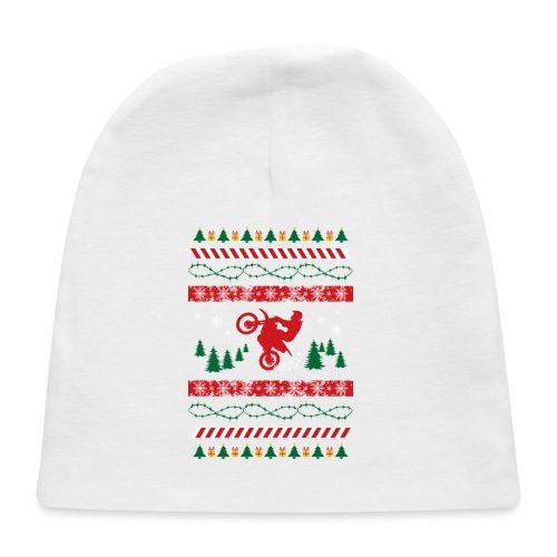 Ugly Christmas Motocross - Baby Cap