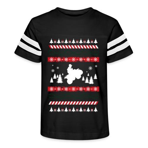 Ugly Christmas Quad - Kid's Vintage Sport T-Shirt