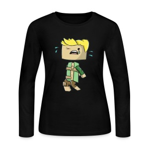 Minecraft GOG Women's Tee - Women's Long Sleeve Jersey T-Shirt