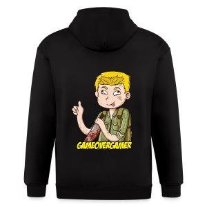 Classic GOG Men's Crewneck Sweater - Men's Zip Hoodie