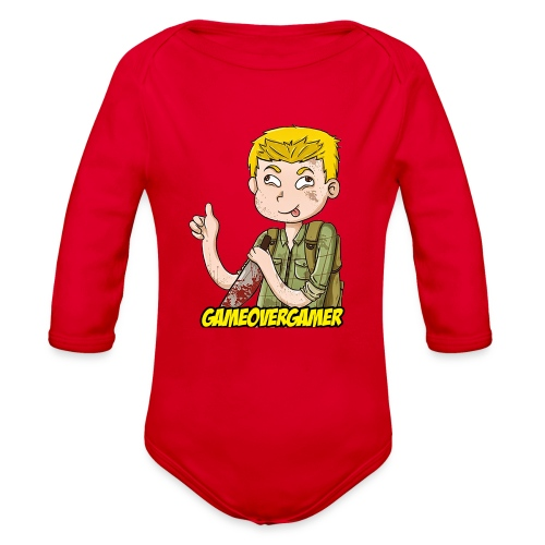 Classic GOG Men's Crewneck Sweater - Organic Long Sleeve Baby Bodysuit