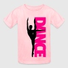 Dance Text Girl  Kids' Shirts - Kids' T-Shirt