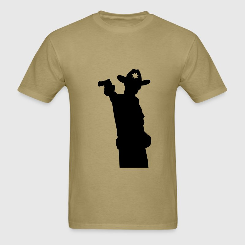 Walking dead - Sherif Grimes - Men's T-Shirt
