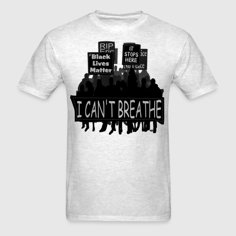 Protest - I Can't Breath T-Shirt & Apparel - Men's T-Shirt