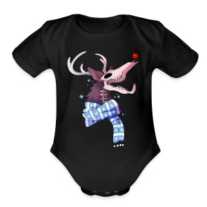 Wendigo Cheer Girl's Tee - Short Sleeve Baby Bodysuit
