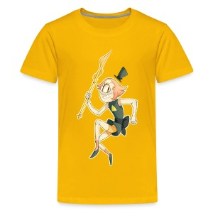 Pearl Cipher Girl's Tee - Kids' Premium T-Shirt