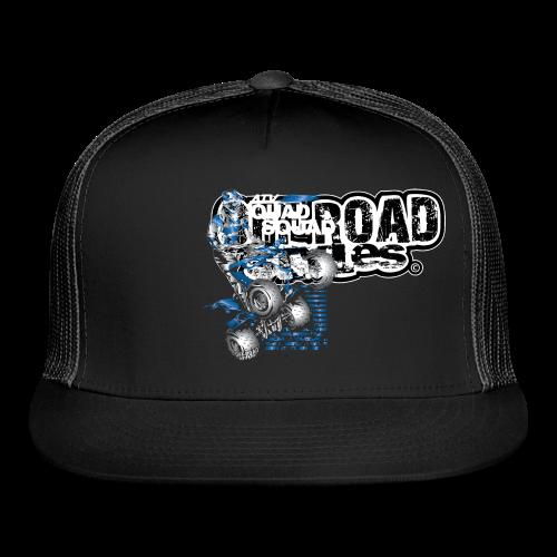 Yamaha Quad Squad BACK - Trucker Cap