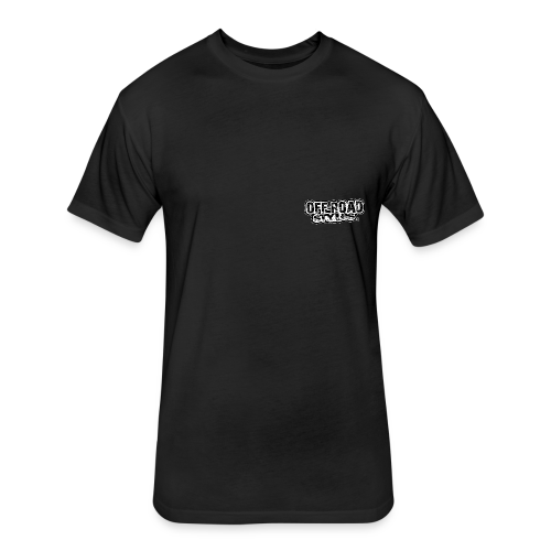 Yamaha Quad Squad BACK - Fitted Cotton/Poly T-Shirt by Next Level