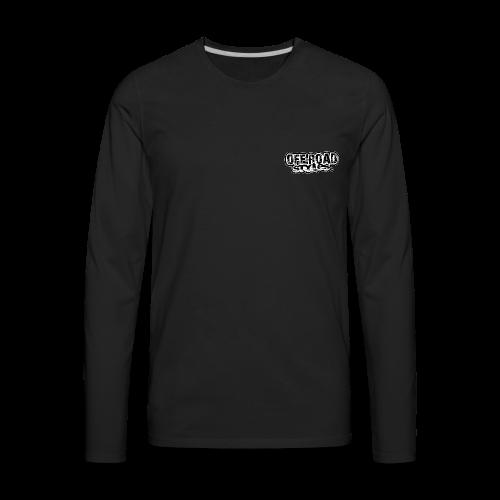 Yamaha Quad Squad BACK - Men's Premium Long Sleeve T-Shirt