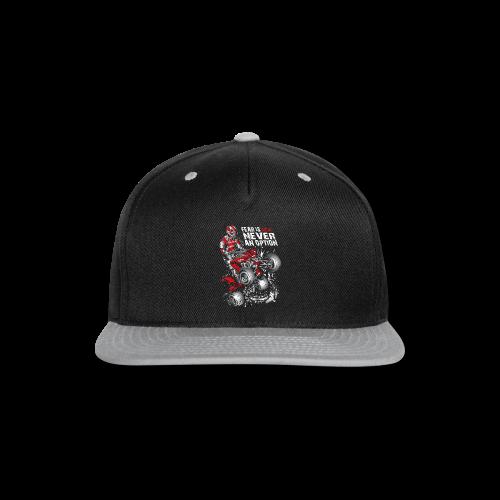 ATV Quad Never Fear - Snap-back Baseball Cap